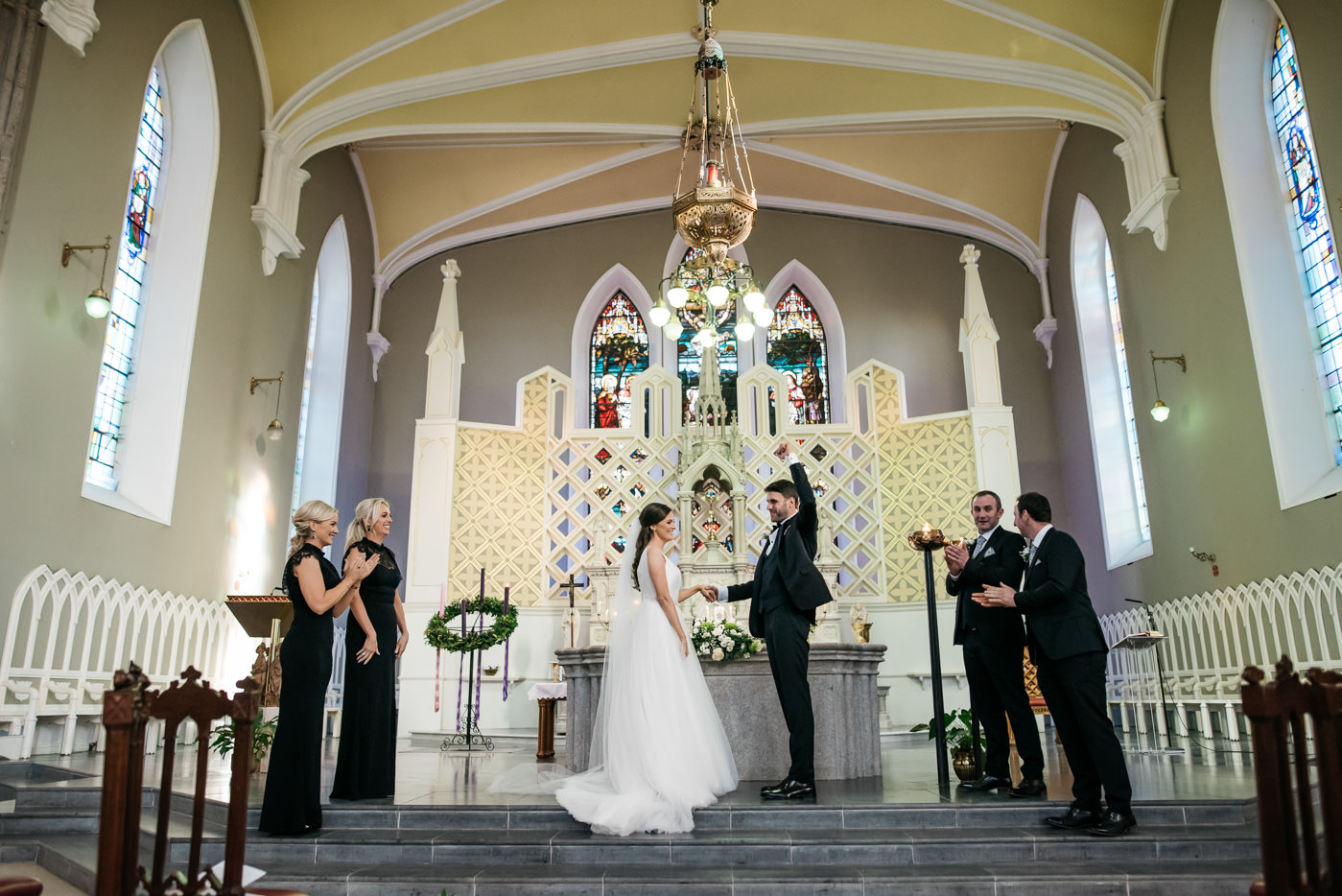 Kilkea Castle Wedding in Kildare 25