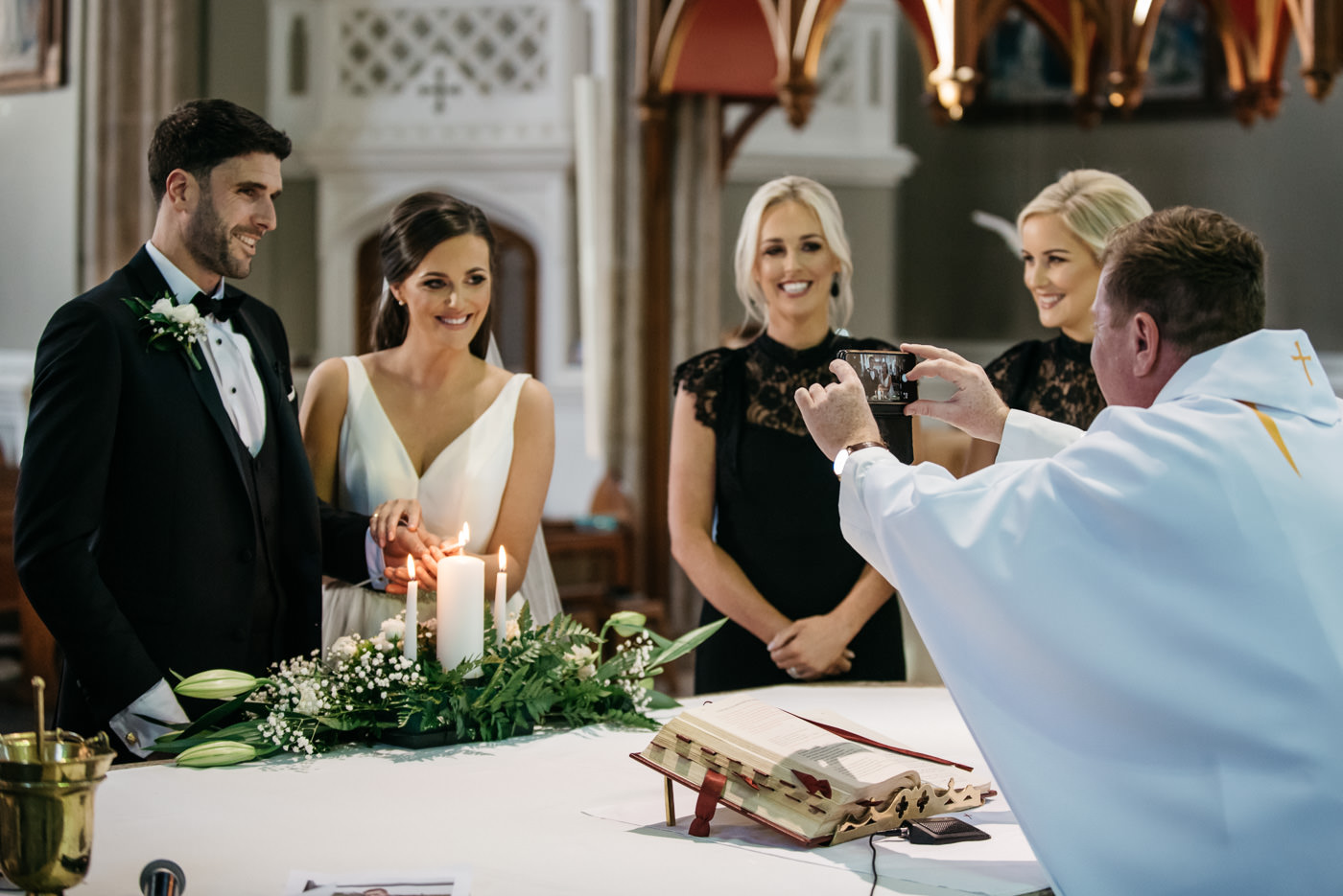 Kilkea Castle Wedding in Kildare 27