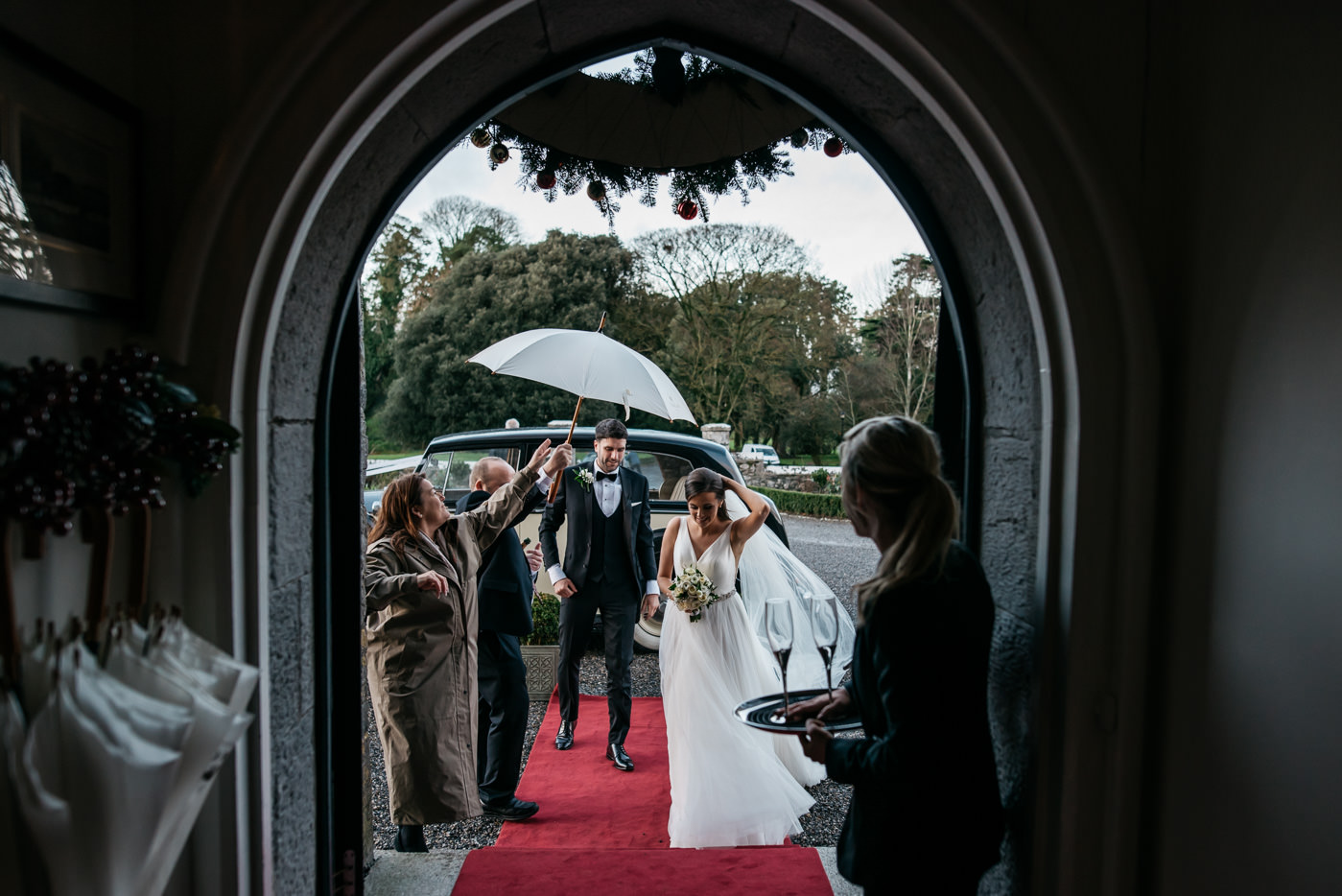 Kilkea Castle Wedding in Kildare 34