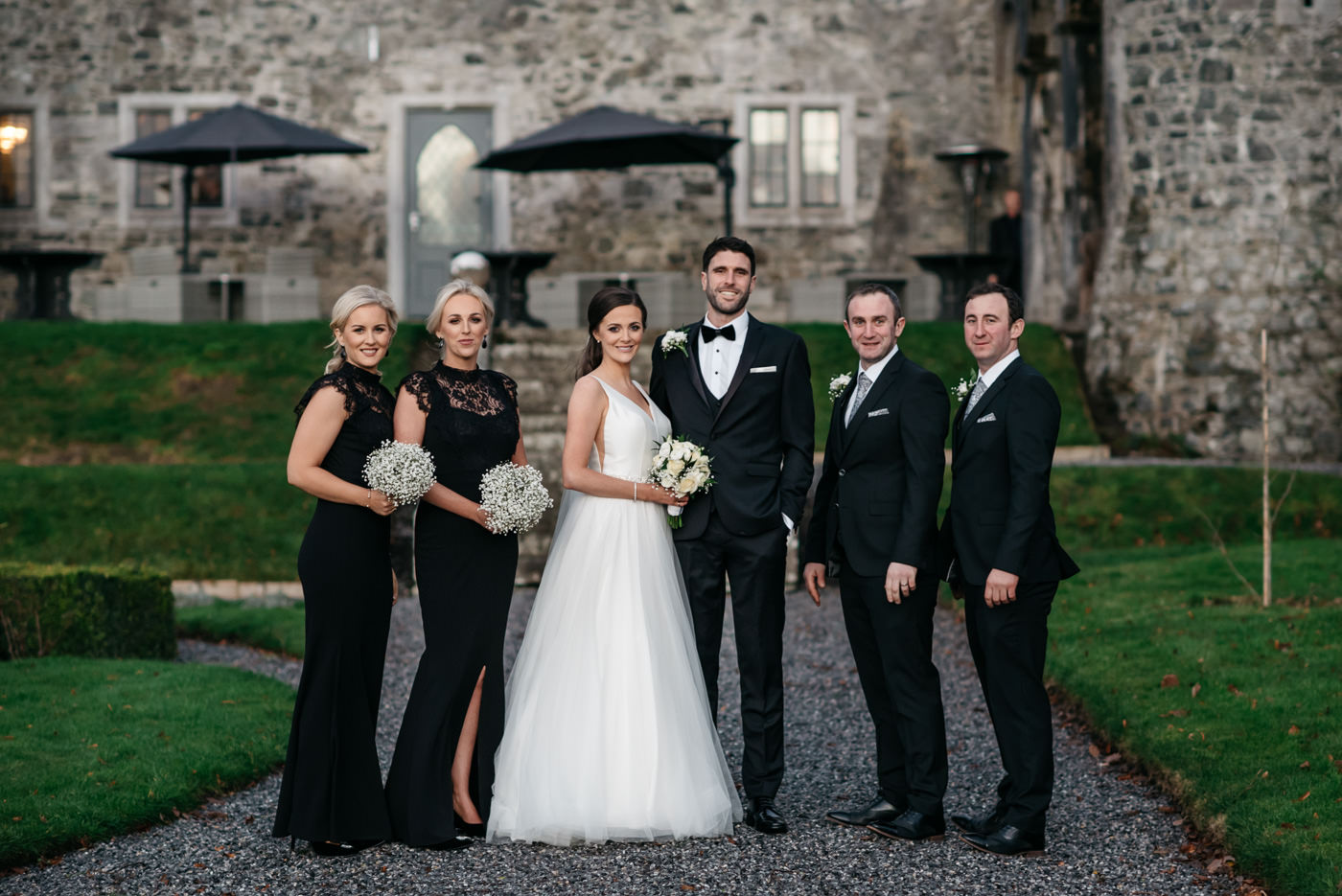 Kilkea Castle Wedding in Kildare 44