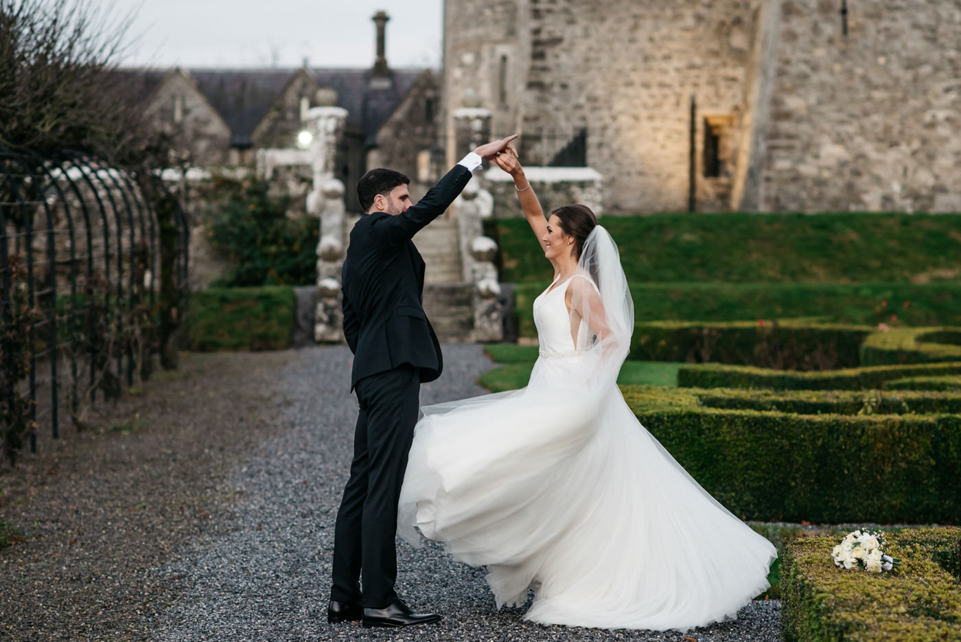 Kilkea Castle Wedding in Kildare 61