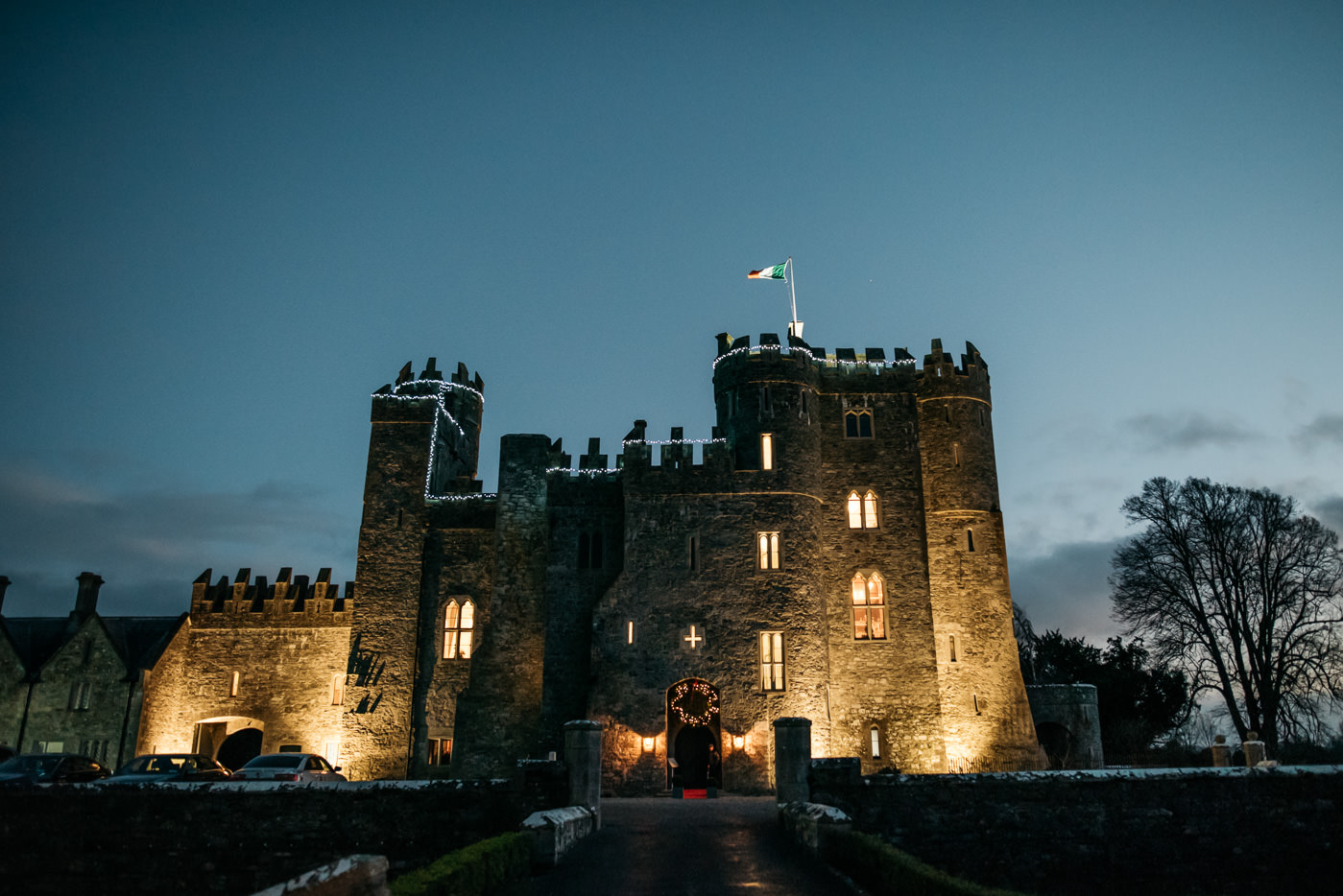 Winter weddings at Kilkea Castle