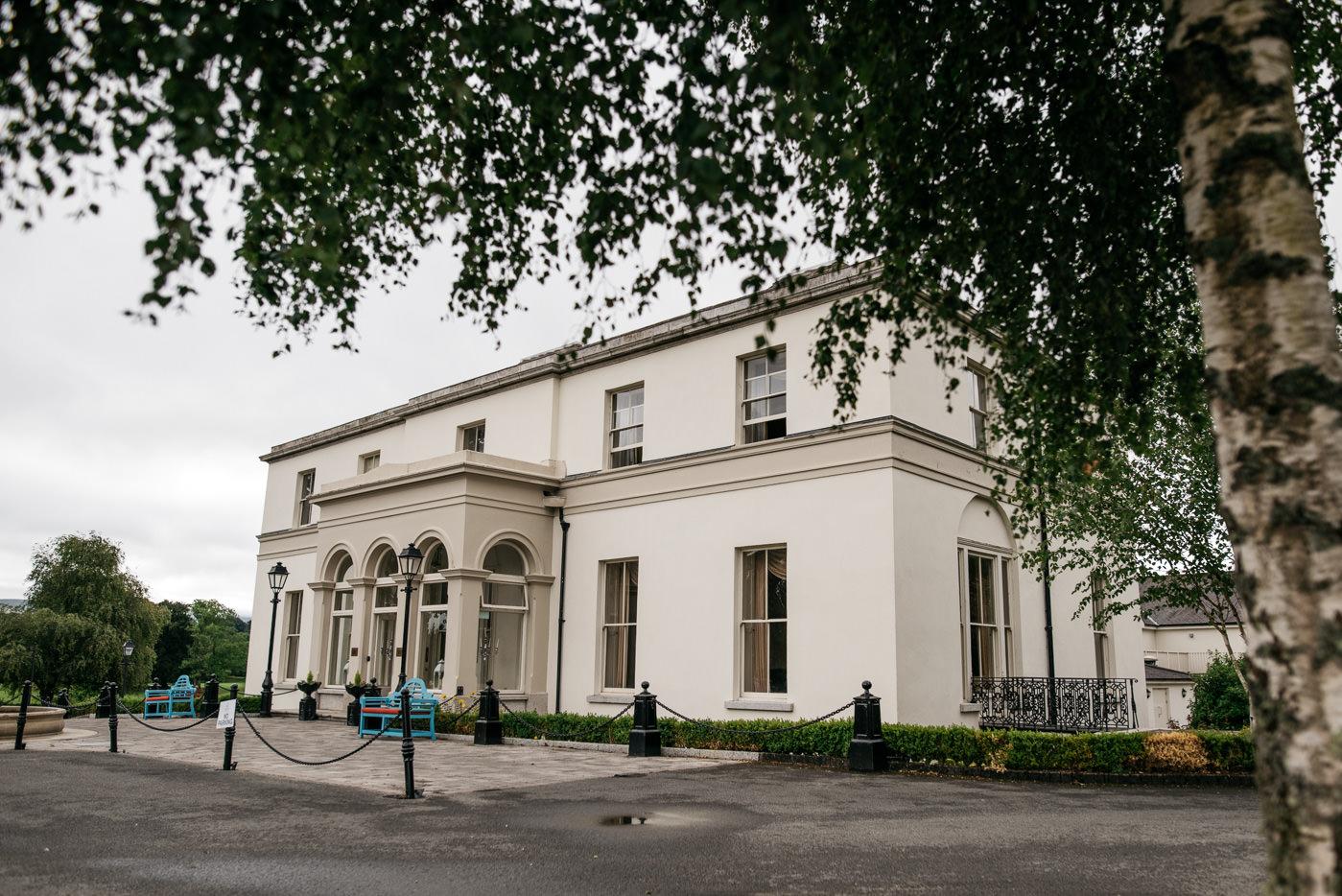 Tulfarris Manor House in Blesington