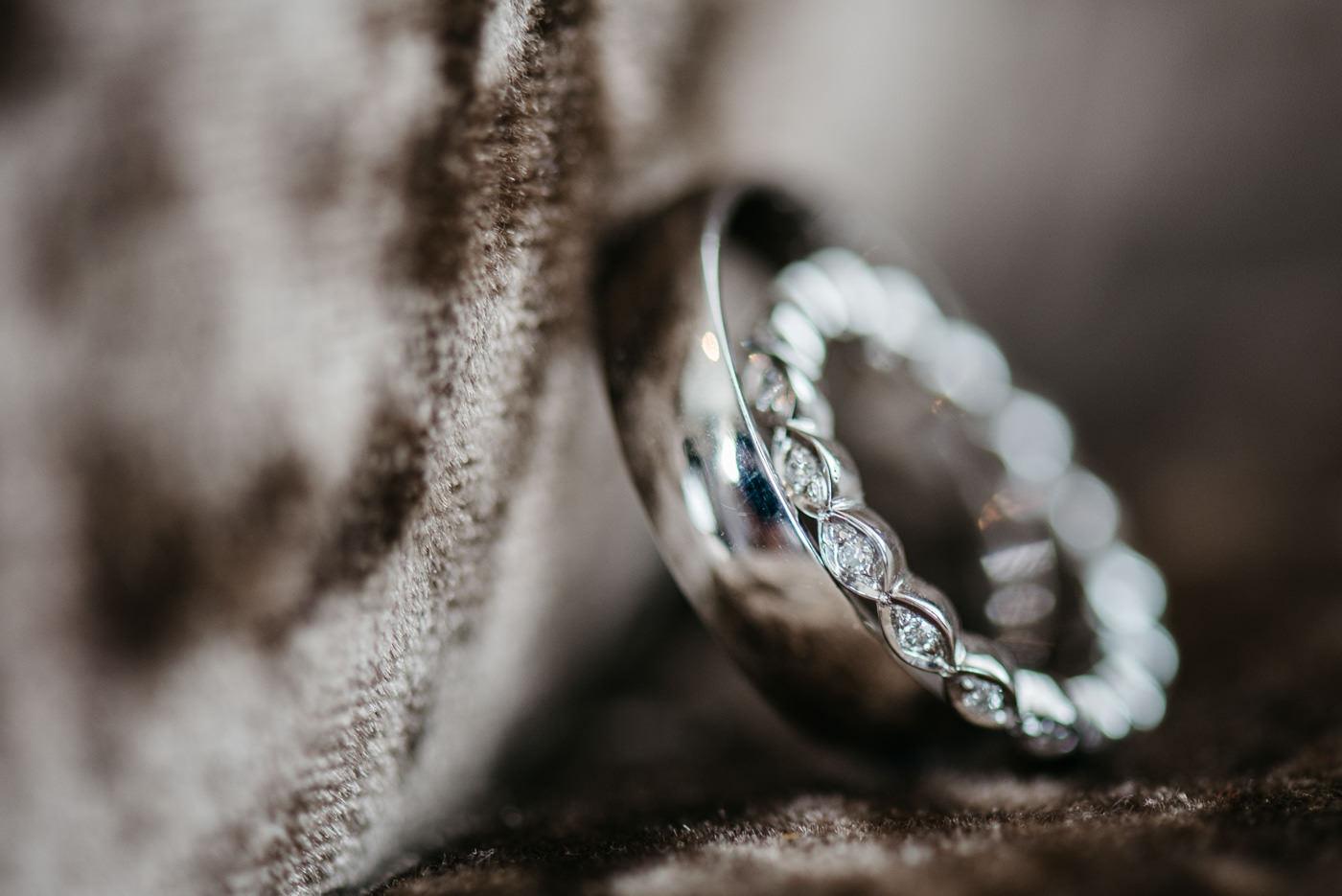 wedding rings in Tulfarris Hotel Blesington