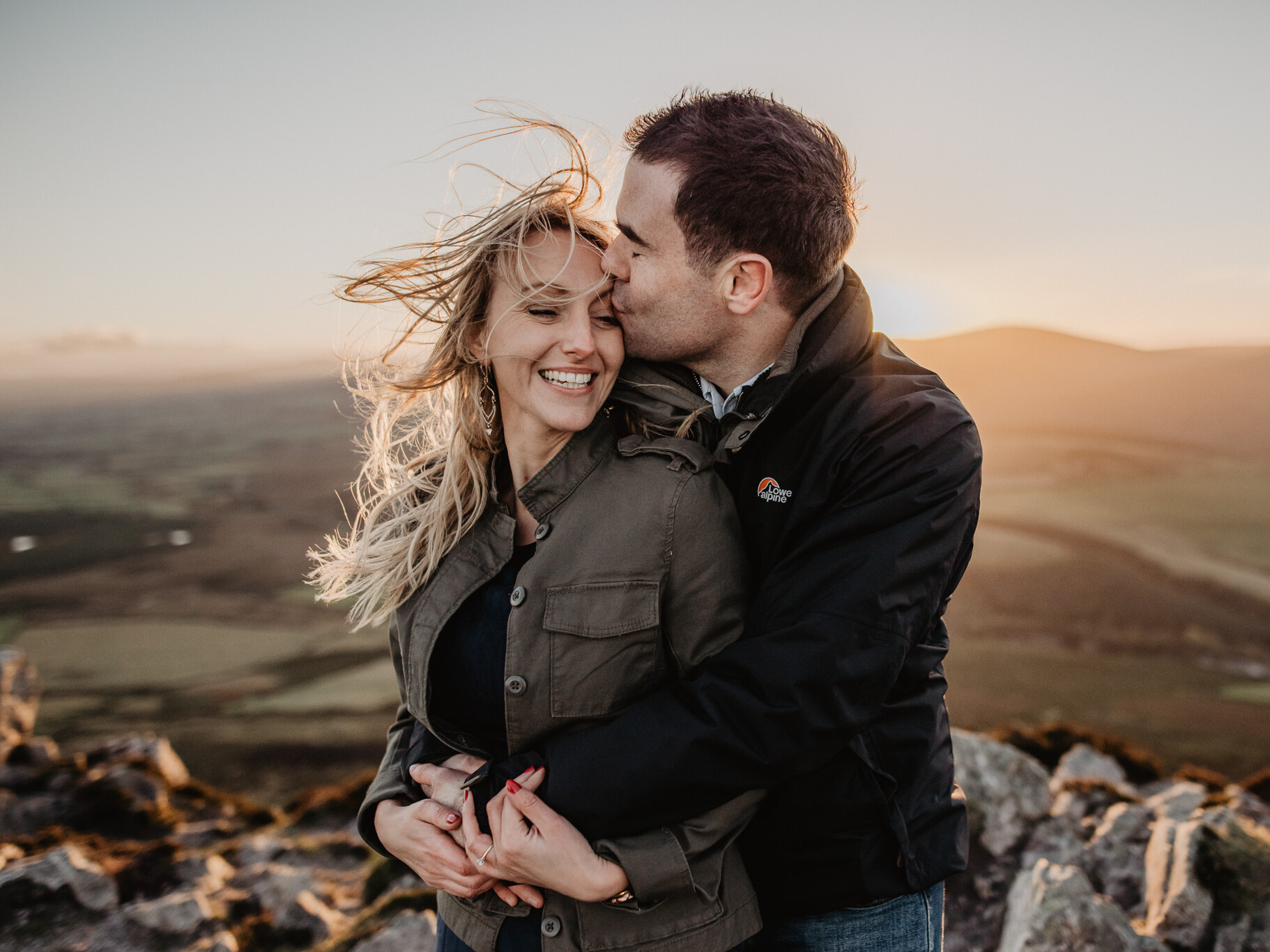 Pre Wedding photography at Great Sugar Loaf Wicklow near Dublin 2