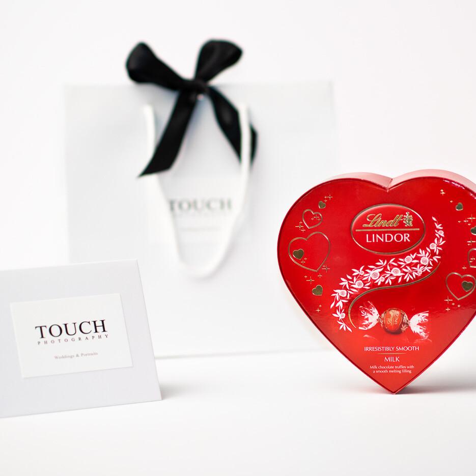 Valentine's Day Gift Card FREE Chocolate